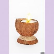 Свеча-эко ручной работы COCONUT