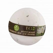 """Бурлящий шар для ванны Белый лотос и пальмроза"""", 220 гр"""""""