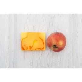 Мыло твердое глицериновое Персиковый фромаж, 100 гр