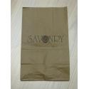 """Упаковочный пакет средний бумажный с логотипом """"Savonry"""""""