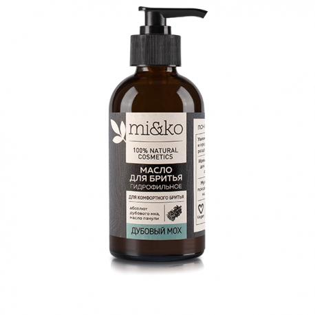 Гидрофильное масло для бритья Дубовый мох 100 мл