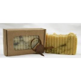 """Натуральное мыло """"Каннабикум"""" сандал + ментол + травы, 100 гр"""