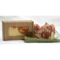 Натуральное мыло Кастильское, клубника, 100 гр