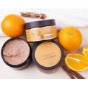 Скраб для тела сахарный Апельсин с корицей, 260 гр
