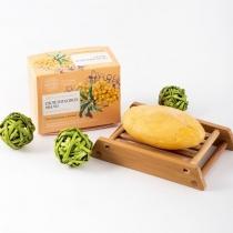 """Натуральное мыло """"Облепиховое"""",110 гр"""