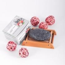 """Натуральное мыло """"С черной глиной"""",110 гр"""