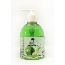 Жидкое мыло с  маслами лайма и лемонграсса, 300 мл