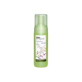"""Пенка для умывания """"Луговые цветы"""" для сухой кожи. 150 мл."""