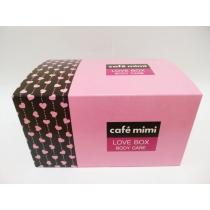 """Сafé mimi  Подарочный набор """" Love Box Body care"""""""