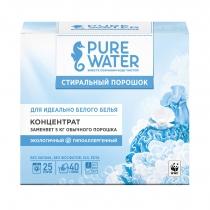 Стиральный порошок для белого белья Pure Water, 800 г
