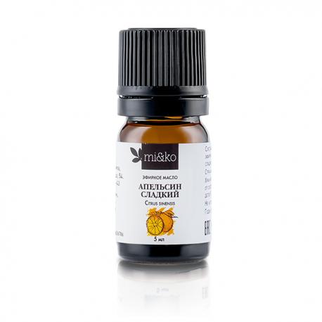 Эфирное масло Апельсин сладкий 5 мл, органик