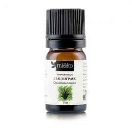 Эфирное масло Лемонграсс 5 мл, органик
