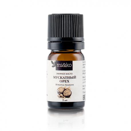 Эфирное масло Мускатный орех 5 мл, органик
