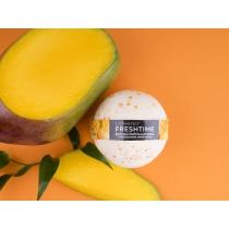 """FRESH TIME Фруктовая бомбочка для ванны """"""""С натуральным соком манго"""""""", 170 г"""