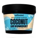 Мыло-скраб для тела кокос и кумкват, 110 мл