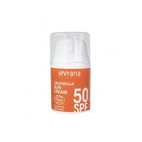 Солнцезащитный крем для тела Календула, 50SPF, 50мл
