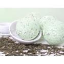 Бурлящие шарики для ванн Зеленый чай с пеной, упаковка 6шт