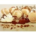 Бурлящие шарики для ванн Молочный шоколад с пеной, упаковка 6шт