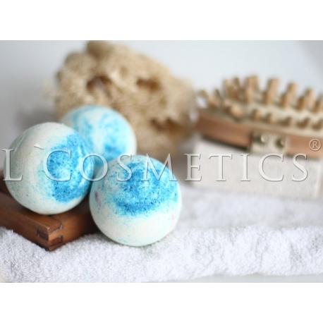 Бурлящие шарики для ванн СПА солевая с пеной, упаковка 6шт
