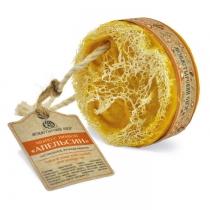 Мыло банное с люфой «Апельсин», 130 г