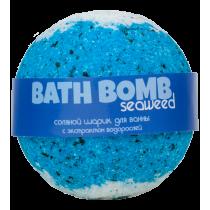 Бурлящий шарик для ванны SEAWEED (морские водоросли), шт