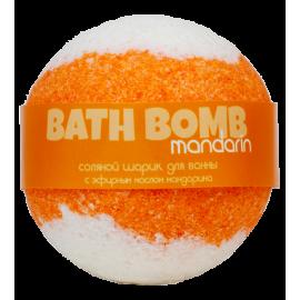 Бурлящий шарик для ванны MANDARIN (мандарин), шт
