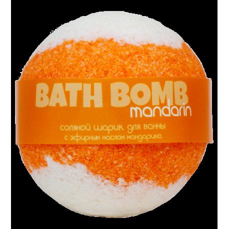 Бурлящий шарик для ванны MANDARIN (мандарин), 100/120гр