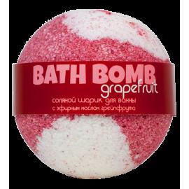 Бурлящий шарик для ванны GRAPEFRUIT (грейпфрут), 100/120гр