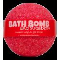 Бурлящий шарик для ванны WILD STRAWBERRY (земляника), 100/120гр