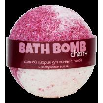 Бурлящий шарик для ванны с пеной CHERRY (вишня), 100/120гр