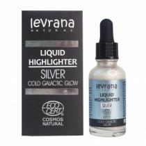 Жидкий хайлайтер Сold galactic glow (серебро), 30мл