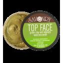 Маска для лица TOP FACE зеленая глина и альгинат, 150 г
