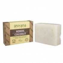 Натуральное мыло ручной работы Кокос, 100гр