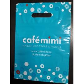 Пакет cafe mimi ГОЛУБОЙ