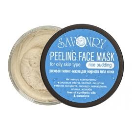 Пилинг-маска Рисовый пудинг (для жирного типа кожи), 150 гр