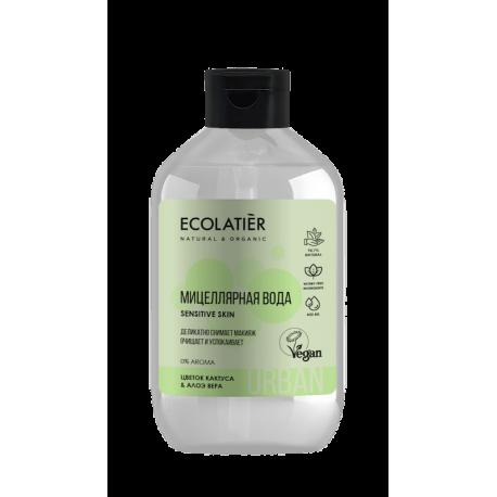 Мицеллярная вода для снятия макияжа кактус & алоэ вера, 400 мл