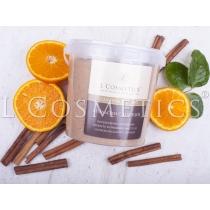 Скраб для тела сахарный Апельсин с корицей, 1000 гр