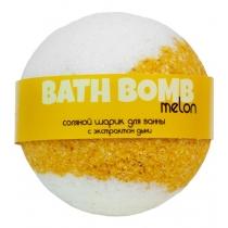 Бурлящий шарик для ванны MELON (с экстрактом дыни), шт