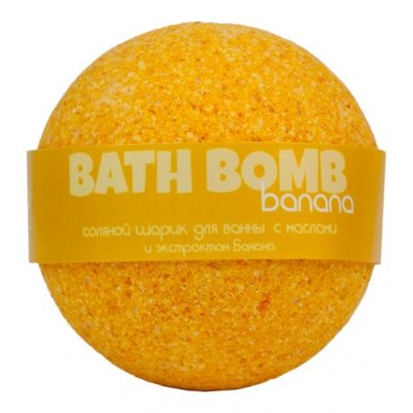 Бурлящий шарик для ванны BANANA (банан), 100/120гр
