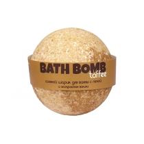 Бурлящий шарик для ванн с пеной Toffee (ваниль и сливки), 100/120 г