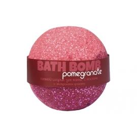 Бурлящий шарик для ванн  Pomegranate (гранат с маслами), 100/120 г