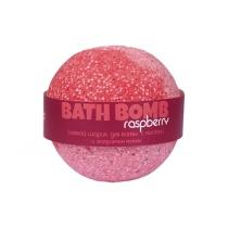 Бурлящий шарик для ванн Raspberry (малина с маслами), 100/120 г