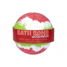 Бурлящий шарик для ванн Watermelon (арбуз с маслами), 100/120 г