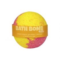 Бурлящий шарик для ванн Yuzu (юдзу с маслами), 100/120 г