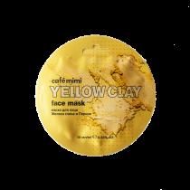 Маска для лица Желтая глина & Персик, 10 мл
