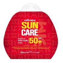 Крем солнцезащитный водостойкий для лица и тела SPF50+, 100 мл