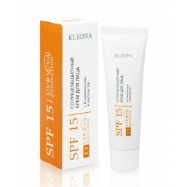 Солнцезащитный крем для лица SPF 15, 30 мл
