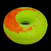 """Гейзер для ванны """"Персиковый пончик с киви"""", 140г"""