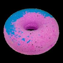 """Гейзер для ванны """"Чернично-малиновый пончик"""", 140г"""