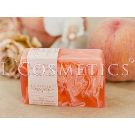 Мыло фасованное Цветы белого персика и масло манго, упаковка 10шт